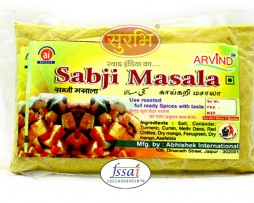 Surbhi famous Spices Sabji Masala Powder for making tasty & spicy with hygienic pouch packing