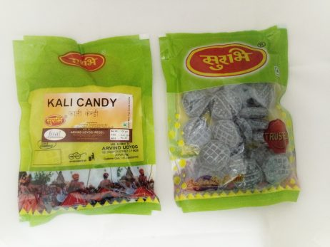 Surbhi Yummy Spicy Kala Khatta Candy Mouth Freshener for kids With natural fruit